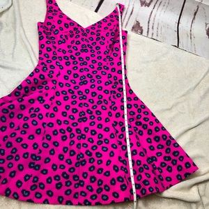 Lilly Pulitzer Dresses - Lilly Pulitzer 4 Pink Mambo Amuse Leopard Dress